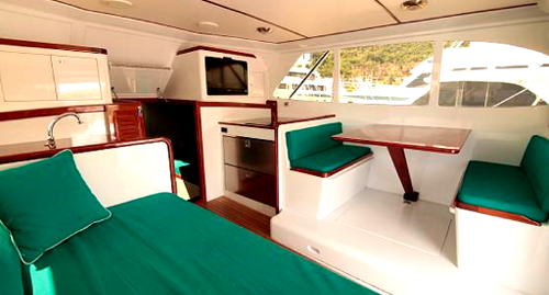 interior charter boat fishing in costa rica