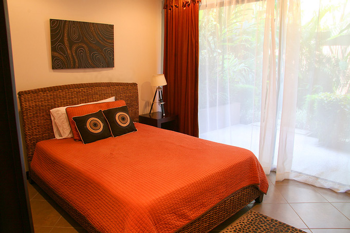 Comfy bedroom in a hotel in Jaco