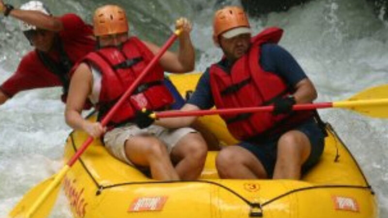 El Chorro Whitewater Rafting Adventure