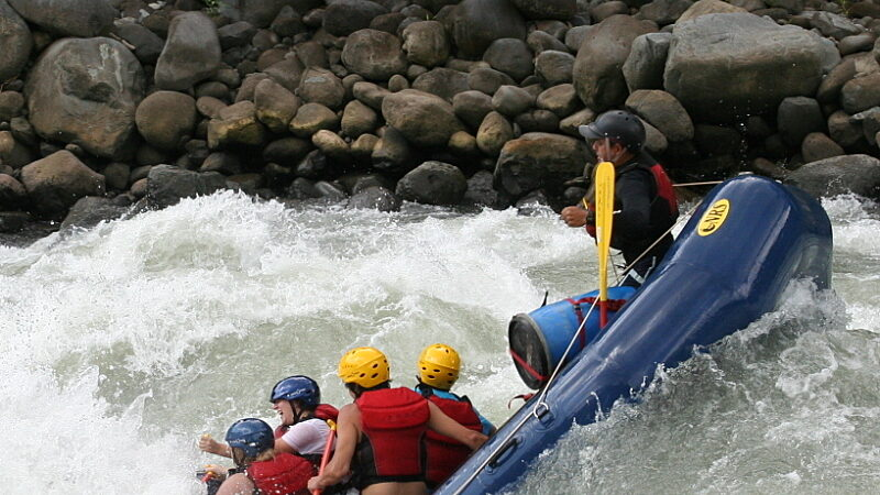Pacuare River Rafting Trip