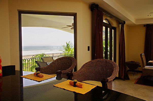 luxury rental condo with ocean views in Jaco, Costa Rica