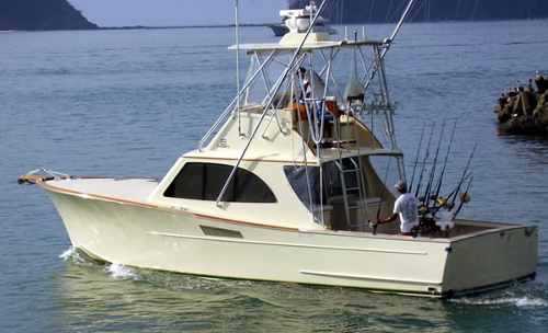 sportfisher charter in los suenos costa rica
