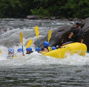 river rafting trip in Costa Rica
