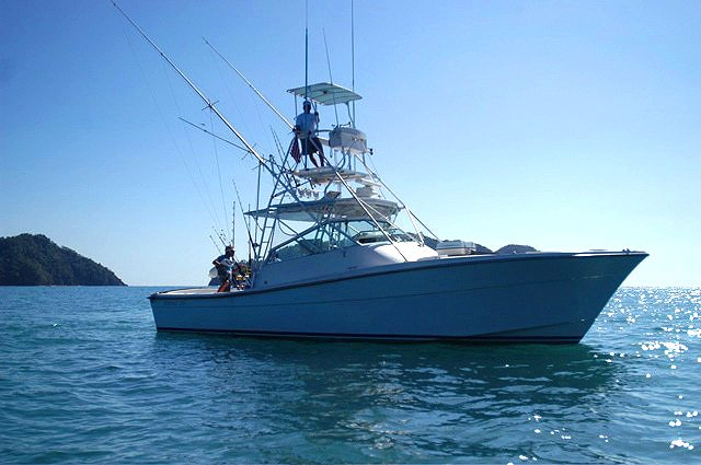 sportfishing charter out of Los Suenos Marina