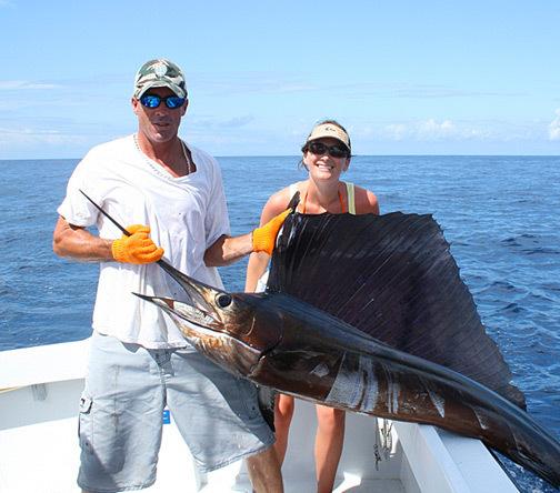 Sailfish bite: A record year.