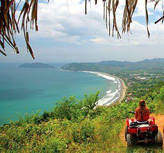 ATV tour above Jaco Costa Rica