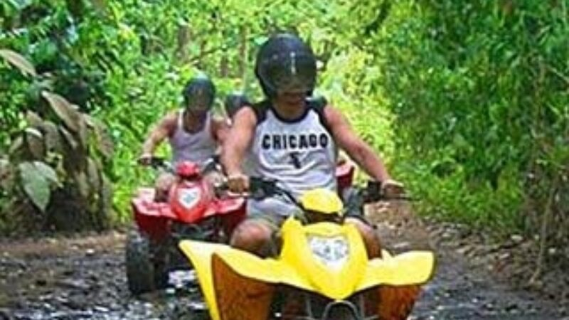 Signature ATV Canopy Waterfall Adventure