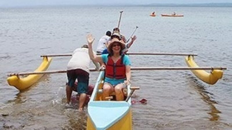 Snorkeling Outrigger Canoe