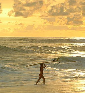 Jaco Beach in Costa Rica