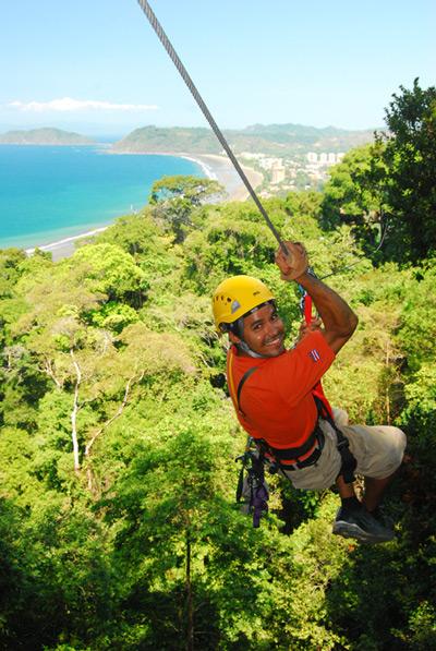 Canopy Zipline Tour in Los suenos, Costa Rica