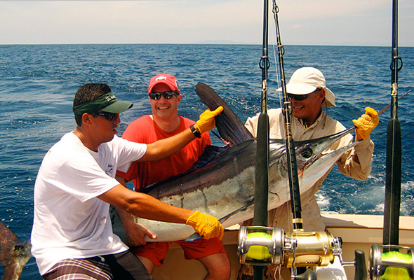 Great fishing days for serious anglers