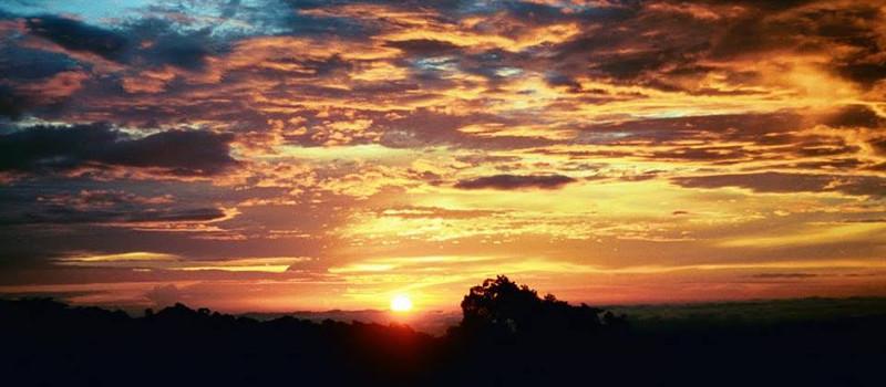 Amazing Sunset in Costa Rica