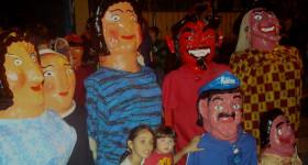 Celebrating Día de la Mascarada in Costa Rica