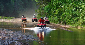 Las principales compañías de tours de ATV en Costa Rica