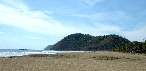 Jaco Beach in Costa Rica