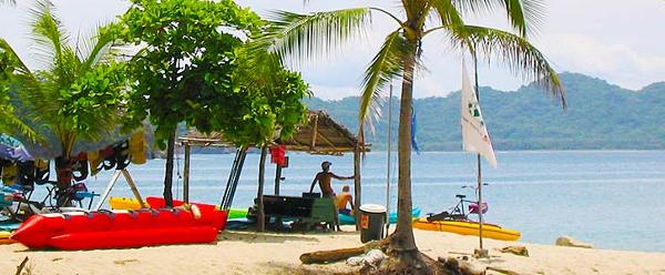 Tortuga Island Beach in Costa Rica