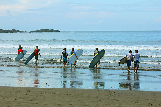 Year Round Surfing in Beautiful Costa Rica