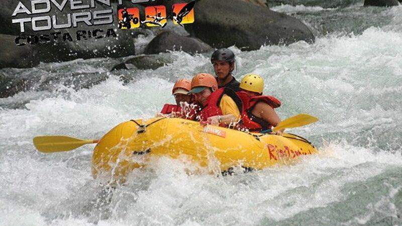 Savegre Rafting Class III
