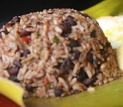 Caribbean-Style Gallo Pinto