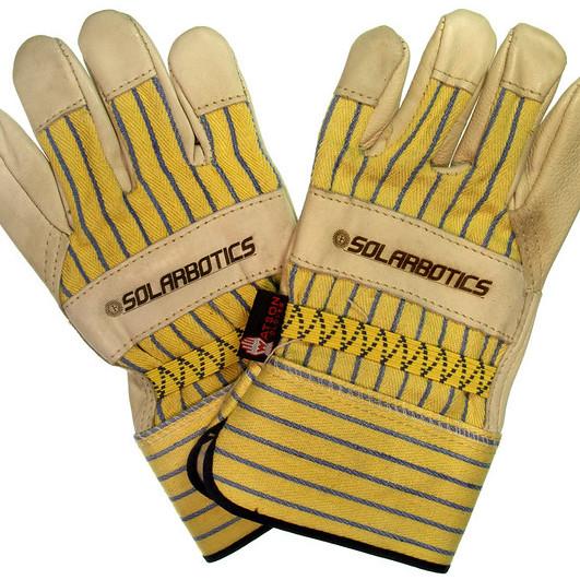 Gloves for an ATV ride