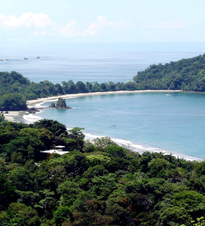 Landscape View of Manuel Antonio Park