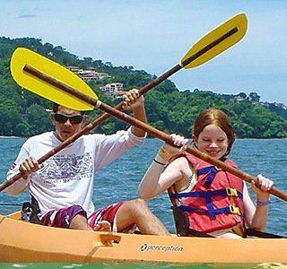 Familia Kayaking Costa Rica